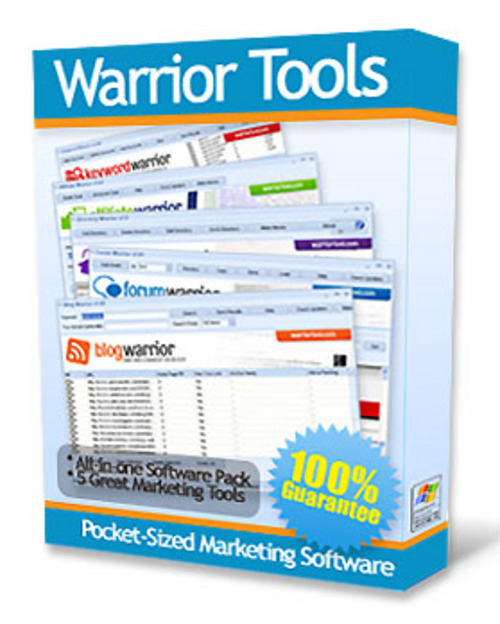 Product picture Warrior Tools Marketing Software